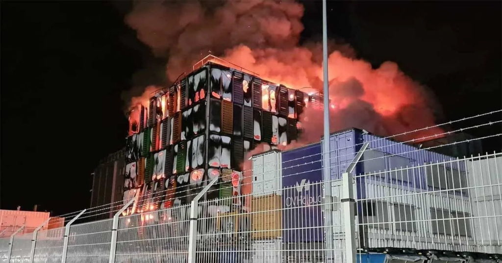 Fire at OVH